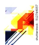 geometric design background   Shutterstock . vector #512764057