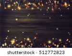 christmas lights | Shutterstock . vector #512772823