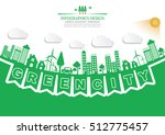 ecology connection  concept... | Shutterstock .eps vector #512775457