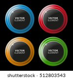 high quality modern color... | Shutterstock .eps vector #512803543