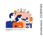 science lab  scientific... | Shutterstock .eps vector #512809183