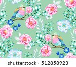 bouquet of exotic flower with a ... | Shutterstock . vector #512858923