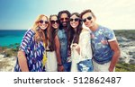 summer vacation  travel ... | Shutterstock . vector #512862487