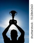 Champion And Winning Concept....