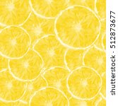colored stylized orange fruit ... | Shutterstock .eps vector #512873677