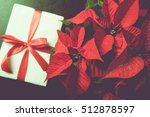 Beautiful Poinsettia With Gift...