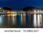 Night View Of The Village Of...