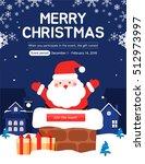 christmas events  | Shutterstock .eps vector #512973997