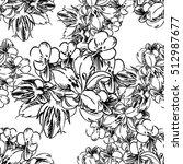 abstract elegance seamless... | Shutterstock . vector #512987677