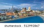 view of cartagena de indias ... | Shutterstock . vector #512992867