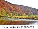 autumn day near river in... | Shutterstock . vector #513004027
