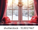 merry christmas and happy... | Shutterstock . vector #513017467