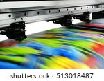 large printer format inkjet... | Shutterstock . vector #513018487