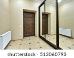 entrance hall  with a beautiful ... | Shutterstock . vector #513060793