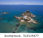 Aerial Image Of Small Island A...