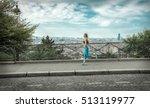 running woman. runner jogging... | Shutterstock . vector #513119977