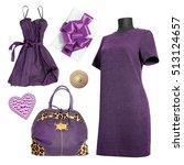 women clothes | Shutterstock . vector #513124657