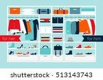 vector illustration of a... | Shutterstock .eps vector #513143743