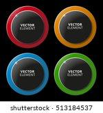 high quality modern circular... | Shutterstock .eps vector #513184537