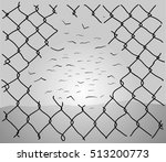Chainlink Fence Hole...