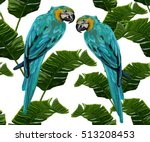 beautiful seamless vector... | Shutterstock .eps vector #513208453