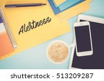 Small photo of Notepad on workplace table and written ALERTNESS concept