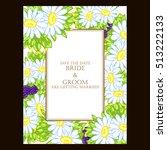 vintage delicate invitation... | Shutterstock .eps vector #513222133