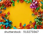 new year decoration party... | Shutterstock . vector #513273367