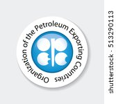 opec icon. organization of the... | Shutterstock .eps vector #513290113