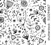 seamless pattern with beautiful ...   Shutterstock .eps vector #513294067
