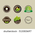 organic food product icon... | Shutterstock .eps vector #513303697