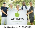 health care healthy life concept | Shutterstock . vector #513360313