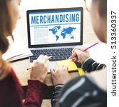 global business corporate b2b... | Shutterstock . vector #513360337