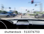 In The Car  Motion Image Of ...
