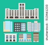 buildings | Shutterstock .eps vector #513461233