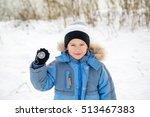 portrait of a boy  the compass... | Shutterstock . vector #513467383