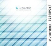 vector geometric abstract... | Shutterstock .eps vector #513489367