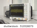 Small photo of Professional digital oscilloscope