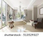 bathroom in luxury neo... | Shutterstock . vector #513529327