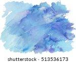 Watercolor Splash Texture. Han...