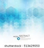 vector abstract geometric... | Shutterstock .eps vector #513629053