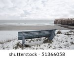 Ballybunion Bench In Winter...