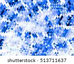 triangle abstract background  | Shutterstock . vector #513711637