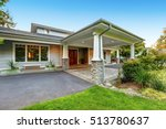 luxury house with an all... | Shutterstock . vector #513780637