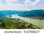 the danube bend viewed from... | Shutterstock . vector #513788227
