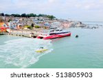 cowes  isle of wight  uk.... | Shutterstock . vector #513805903