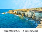 the cape greco is the famous... | Shutterstock . vector #513822283