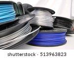 3d printing filament spool | Shutterstock . vector #513963823