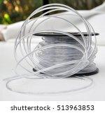 3d printing filament spool | Shutterstock . vector #513963853
