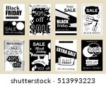 collection of sale banners... | Shutterstock .eps vector #513993223